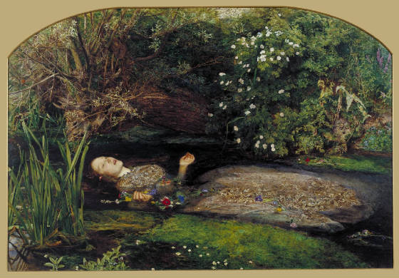 the death and madness of ophelia